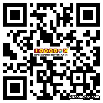QR code with logo 1VE40