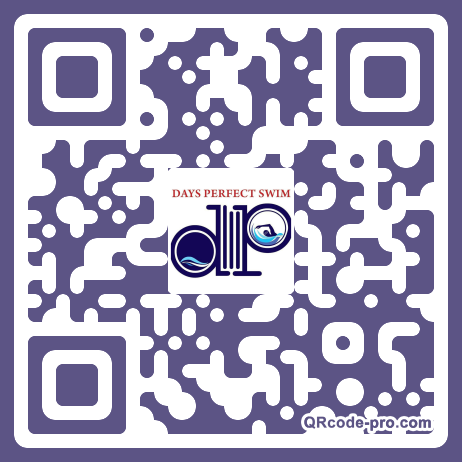QR code with logo 1VF30