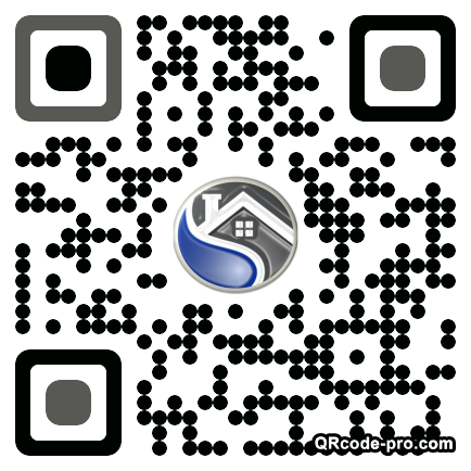 QR code with logo 1VFA0