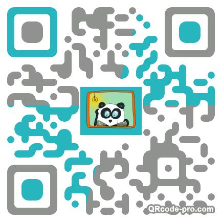 QR code with logo 1VFM0