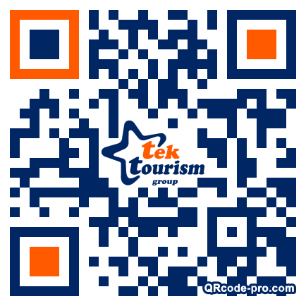 QR code with logo 1VFN0