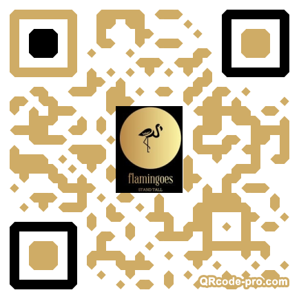 QR code with logo 1VGL0
