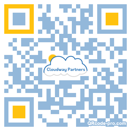 QR code with logo 1VH60