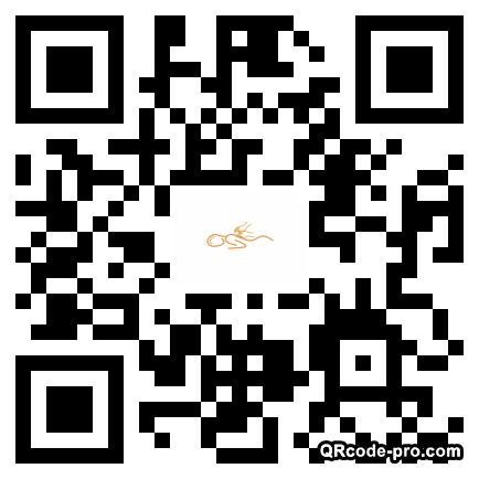 QR code with logo 1VIV0