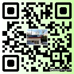 QR code with logo 1VL60