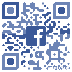 QR code with logo 1VRB0