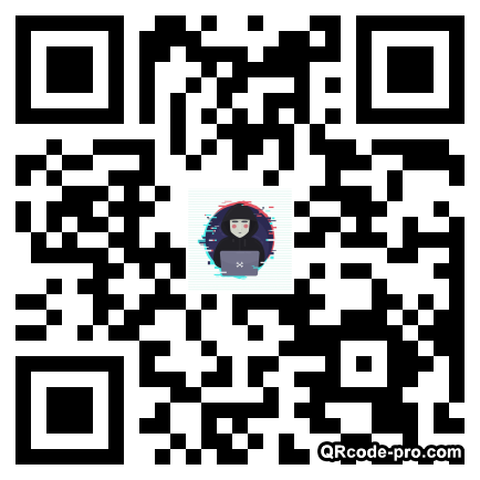 QR code with logo 1VTy0