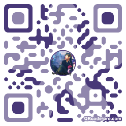 QR code with logo 1VW00