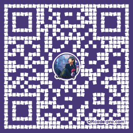 QR code with logo 1VW10