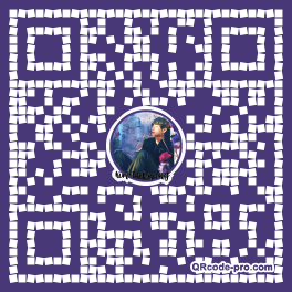 QR code with logo 1VW20