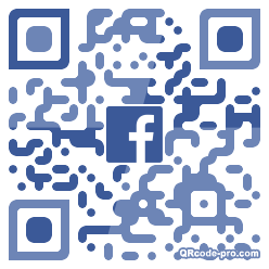 QR code with logo 1VW30
