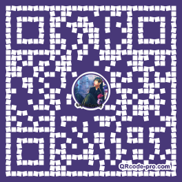QR code with logo 1VW40