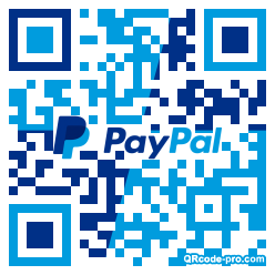 QR code with logo 1Vay0