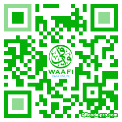 QR code with logo 1Vc20