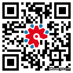 QR code with logo 1VcB0
