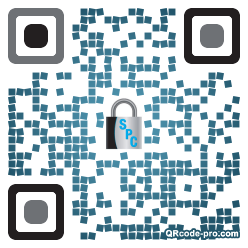 QR code with logo 1Vqf0