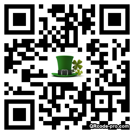 QR code with logo 1Vt20