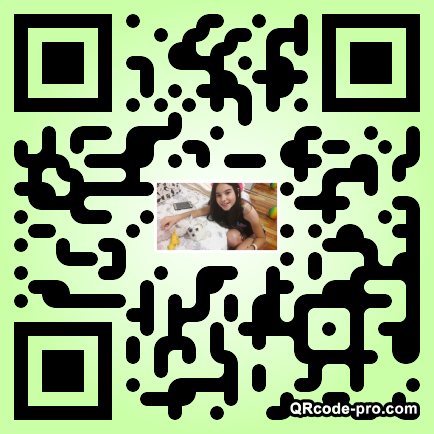 QR code with logo 1VxX0