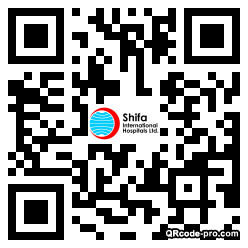 QR code with logo 1Vyp0