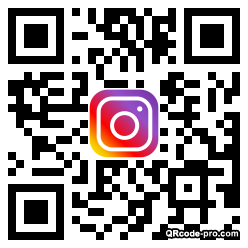 QR code with logo 1VzB0