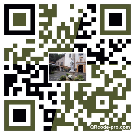 QR code with logo 1Vzr0