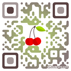 QR code with logo 1W1H0