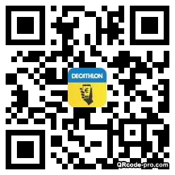 QR code with logo 1W2D0