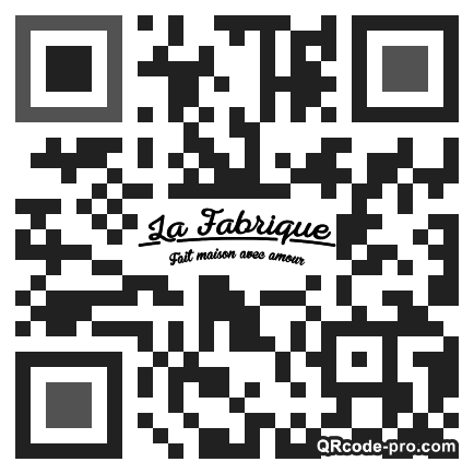 QR code with logo 1W3P0