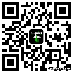 QR code with logo 1W4P0
