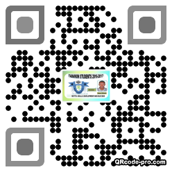 QR code with logo 1W5b0