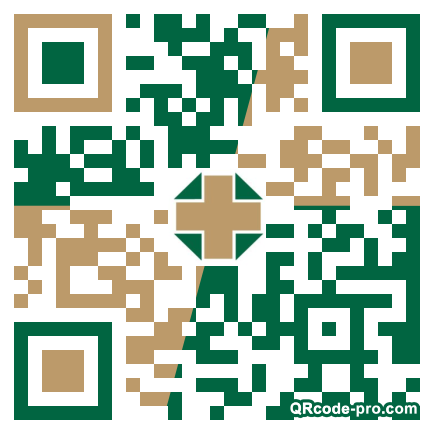 QR code with logo 1W5p0