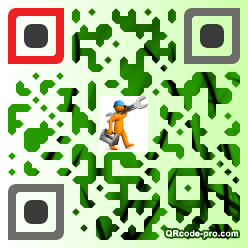 QR code with logo 1W7S0
