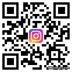 QR code with logo 1W960