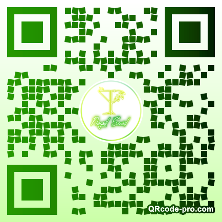 QR code with logo 1WAy0