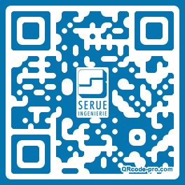 QR code with logo 1WFm0