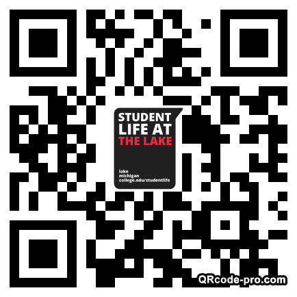 QR code with logo 1WHn0