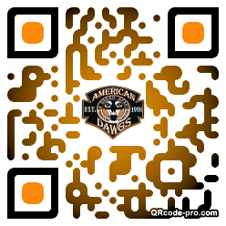 QR code with logo 1WI70