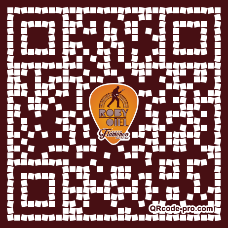 QR code with logo 1WJR0