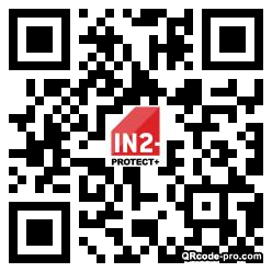 QR code with logo 1WKF0