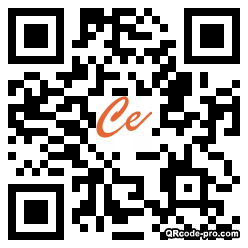 QR code with logo 1WLD0