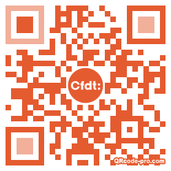 QR code with logo 1WLW0