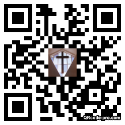 QR code with logo 1WNt0