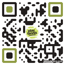 QR code with logo 1WOK0