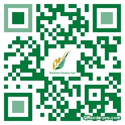 QR code with logo 1WP00