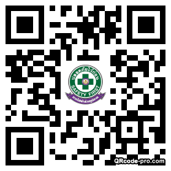 QR code with logo 1WPh0