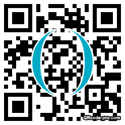 QR code with logo 1WTy0