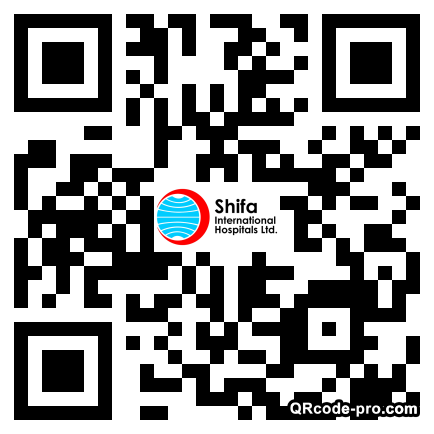 QR code with logo 1WUs0