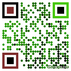 QR code with logo 1WWG0