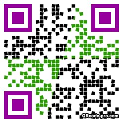 QR code with logo 1WWJ0
