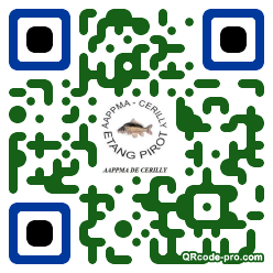 QR code with logo 1WXP0